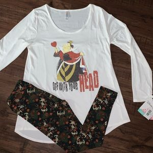Lularoe Disney Villain Co outfit